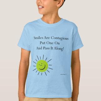 Smiles Are Contaigous! T-Shirt
