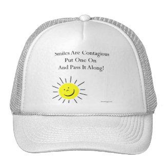 Smiles Are Contaigous! Trucker Hat