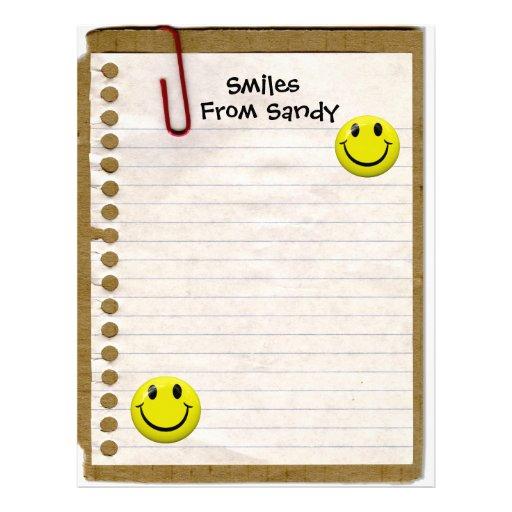 Smiles From... Letterhead