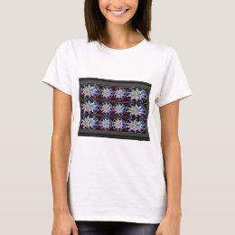 Smiles n Happiness: Sparkling Diamond Stars T-Shirt
