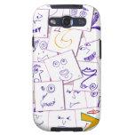 smiles_sketch galaxy s3 cases