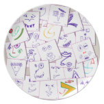 smiles_sketch party plates