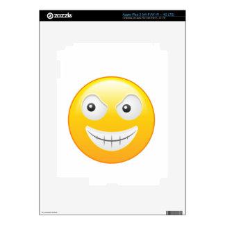 """Smiley 4"" iPad 3 Skins"