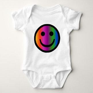 Smiley 8 baby bodysuit
