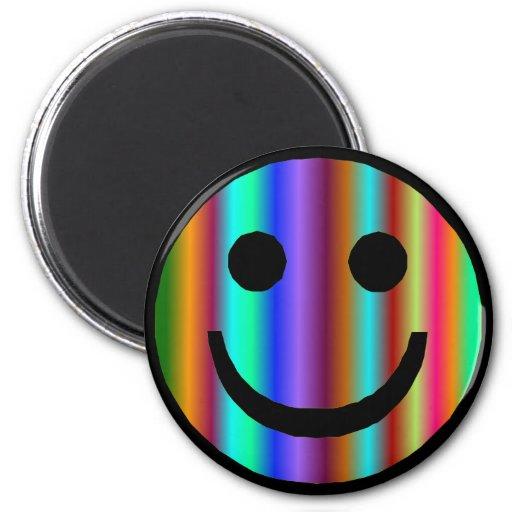 Smiley 9 imán redondo 5 cm