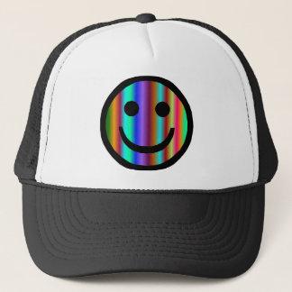 Smiley 9 trucker hat