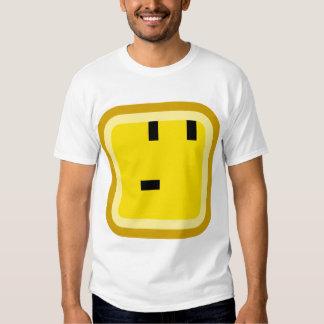 smiley ajustado curioso camisas