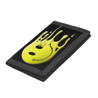 smiley amarillo en fondo negro