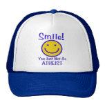 Smiley ateo gorras