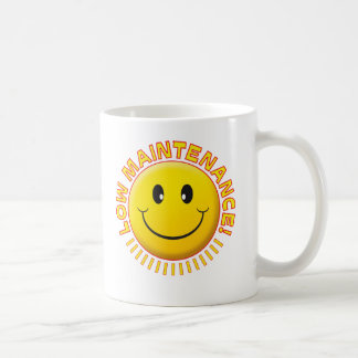 Smiley bajo del mantenimiento taza clásica