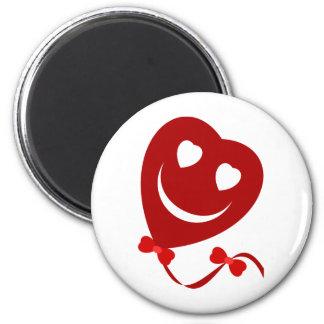 Smiley Balloon Magnet
