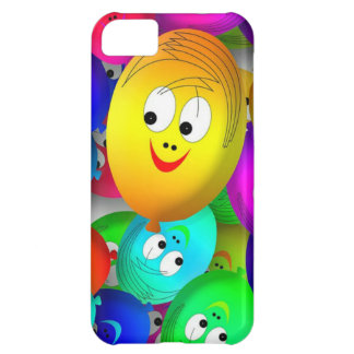 Smiley Balloons Case For iPhone 5C
