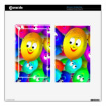 Smiley Balloons Kindle Fire Skin