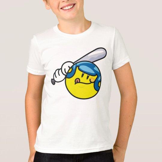 Smiley Baseball T-Shirt