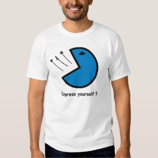 smiley(bitmap) t shirt