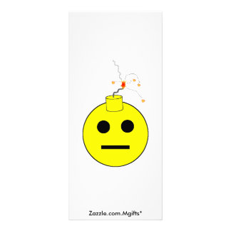 Smiley Bomb Rack Card
