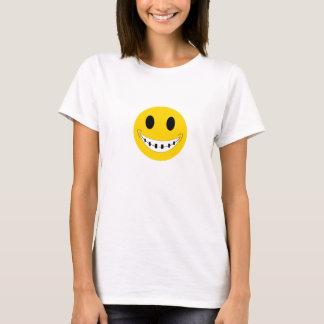 SMILEY braces Playera