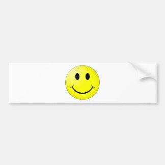 Smiley Bumper Sticker