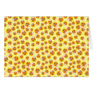 Smiley Candy Corn Greeting Card
