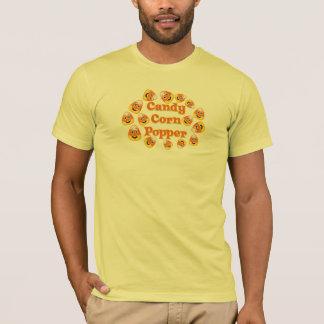 Smiley Candy Corn Popper T-Shirt