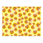 Smiley Candy Corn Postcard