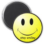 smiley-cara, smiley de la estancia imán