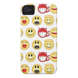 smiley iPhone 4 Case-Mate case