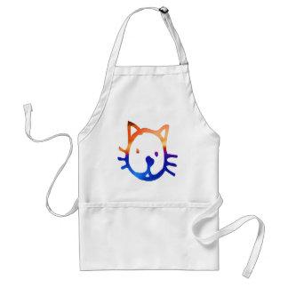 Smiley Cat Adult Apron