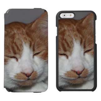 Smiley Cat iPhone folio wallet case Incipio Watson™ iPhone 6 Wallet Case