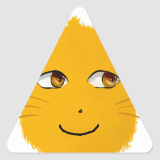 smiley cat stickers