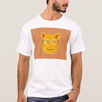 Smiley Cat wearing sunglass T-Shirt