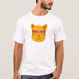 Smiley Cat with sunglass T-Shirt