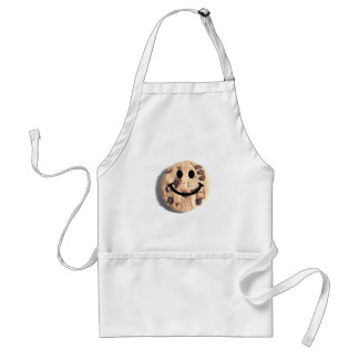 Smiley Chocolate Chip Cookie Adult Apron