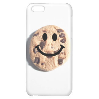 Smiley Chocolate Chip Cookie iPhone 5C Case