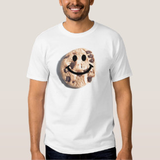 Smiley Chocolate Chip Cookie Shirt