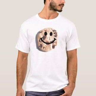 Smiley Chocolate Chip Cookie T-Shirt