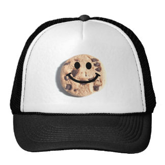 Smiley Chocolate Chip Cookie Trucker Hat