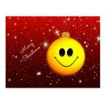 Smiley Christmas Postcards
