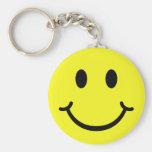 Smiley clásico llaveros personalizados