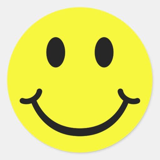 Smiley clásico pegatinas