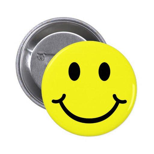 Smiley clásico pin
