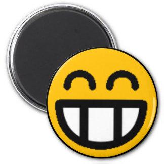 Smiley clasificados coloridos (véase la descripció imán redondo 5 cm