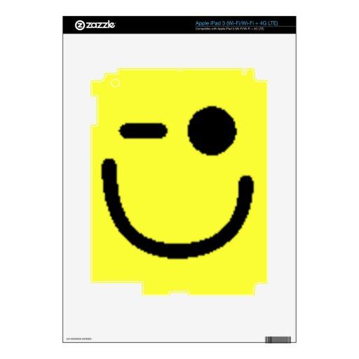 Smiley clasificados coloridos (véase la descripció iPad 3 skins