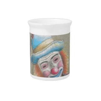 smiley clow pitcher