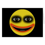 Smiley Clown Greeting Card
