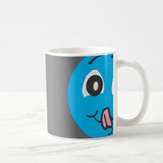 Smiley codicioso tazas de café