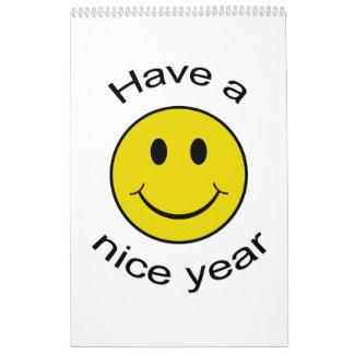 Smiley Collection ~ 2018 Calendar