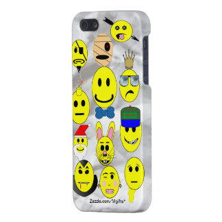 Smiley Collection Case For iPhone 5