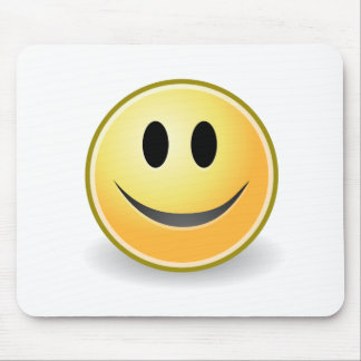 Smiley collection mouse pad