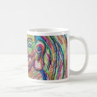 Smiley Colorful Buddha Coffee Mug